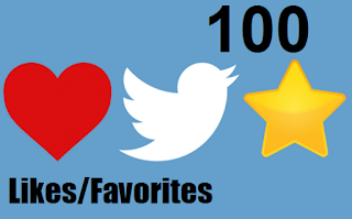 Buy 100 Twitter Favorites