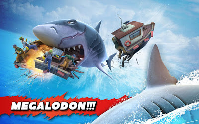 Game Hungry Shark Evolution v3.7.0 Mod Apk Terbaru