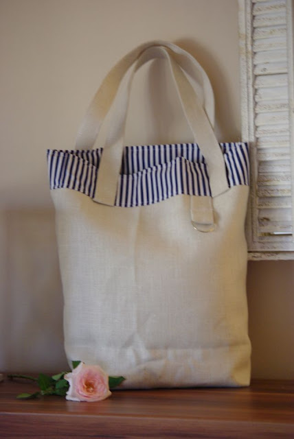 lniana torba, len na torbę, torba rękodzieło, lniana torba