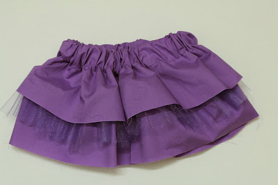 Easy Ruffled Skirt Sewing Pattern