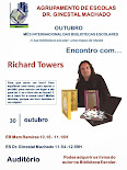 Encontro com o escritor Richard Towers