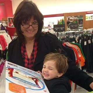 A fun day with my grandson!