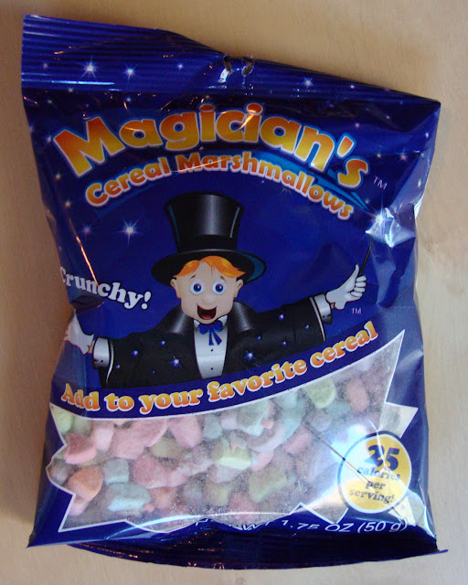Magician's Cereal Marshmallows - like Lucky Charms without the cereal getting in the way!