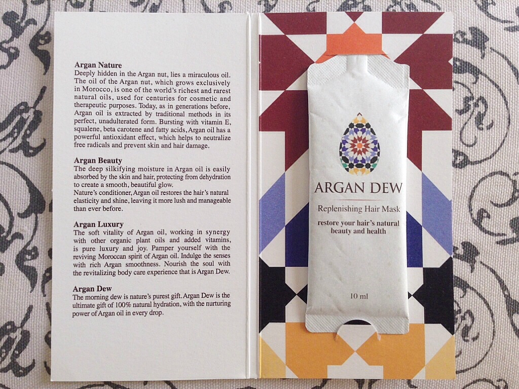 Argan Dew Replenishing Hair Mask