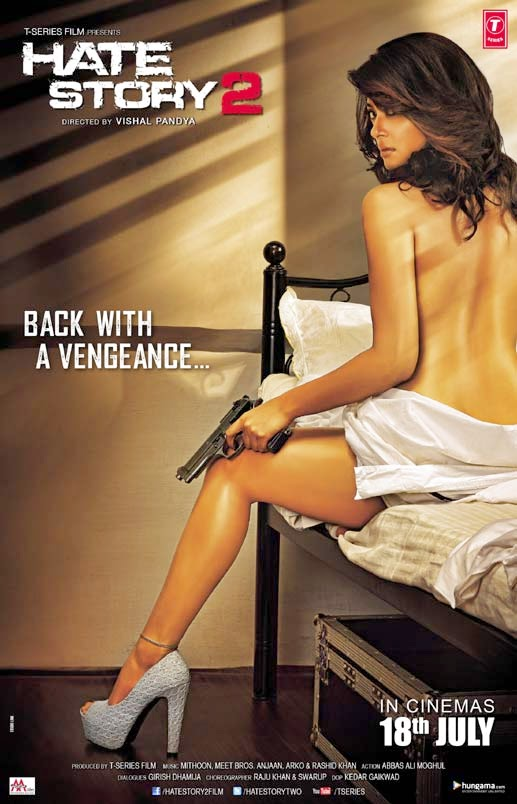 Watch Hate Story 2 (2014) Hindi Non Retail DVDRip Full Movie Watch Online Free Download