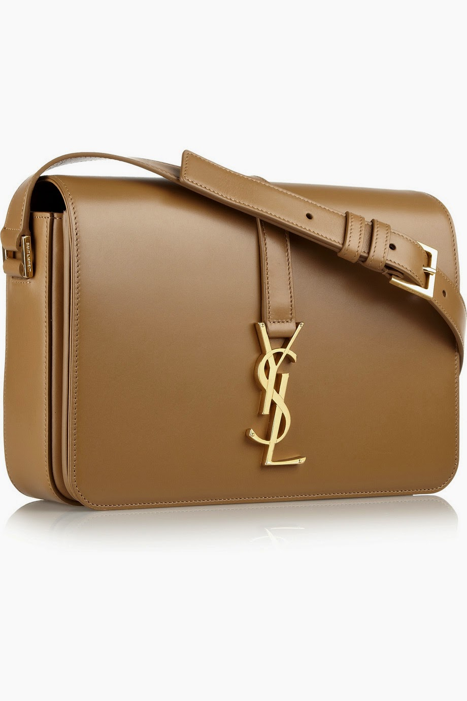 ysl wallet mens - YVES SAINT LAURENT Monogramme Sac Universit�� leather shoulder bag ...