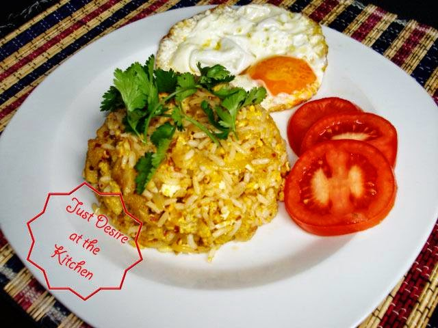 Beef Tripe Fried Rice Semarang