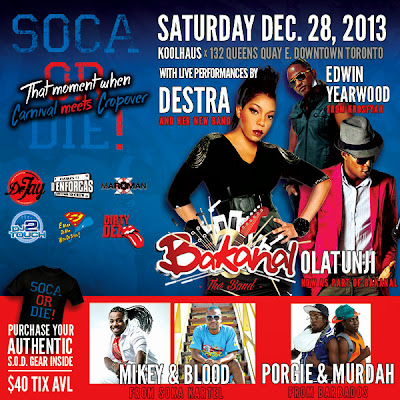 SOCA OR DIE! PROMO MIX DEC 2013