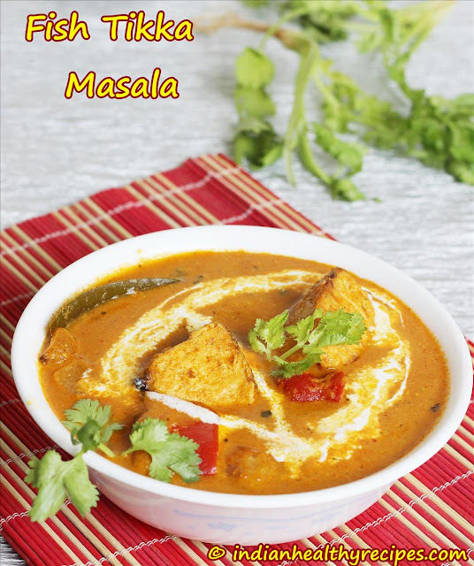 Fish Tikka Masala recipe