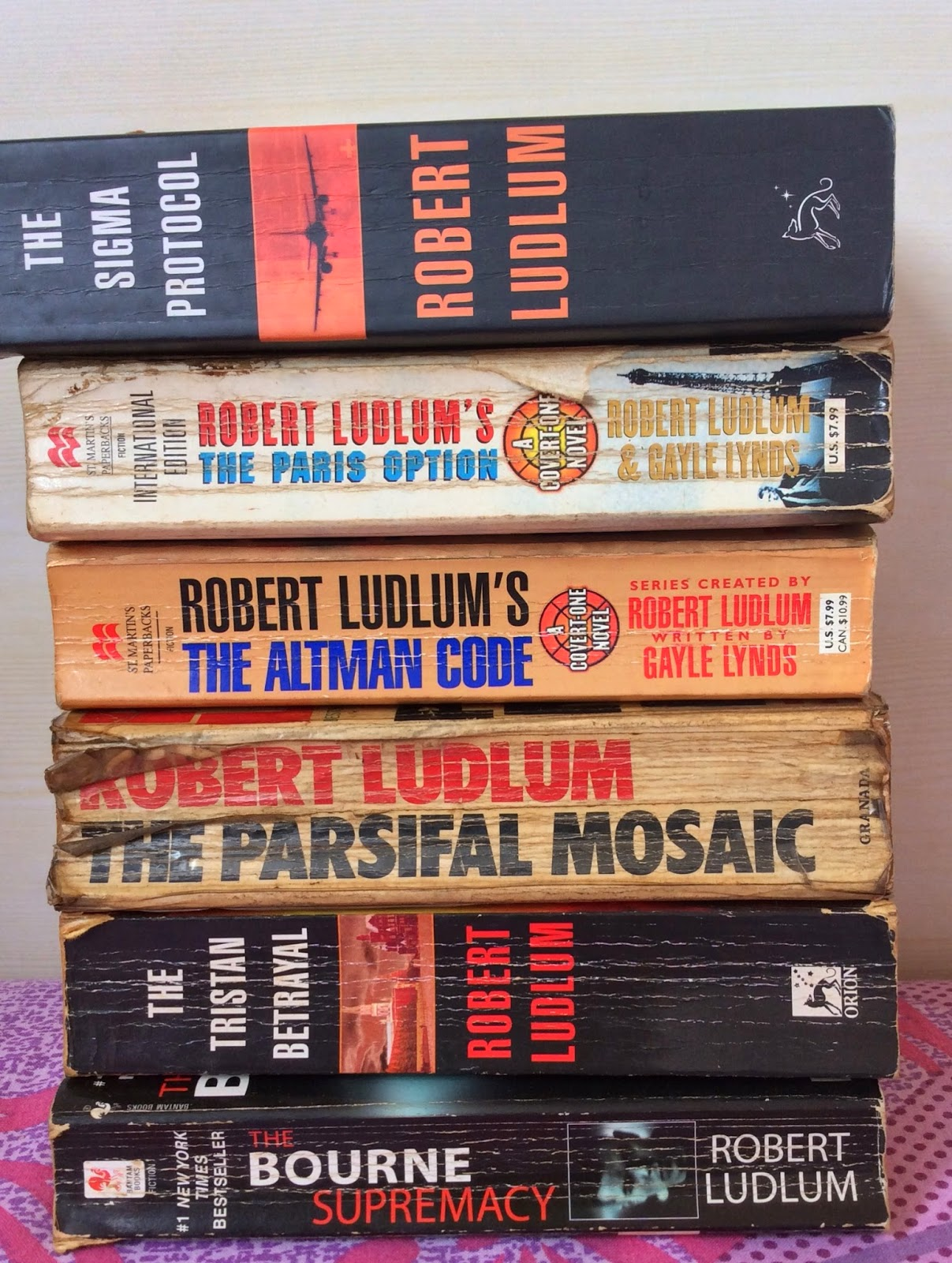 Thriller Robert Ludlum
