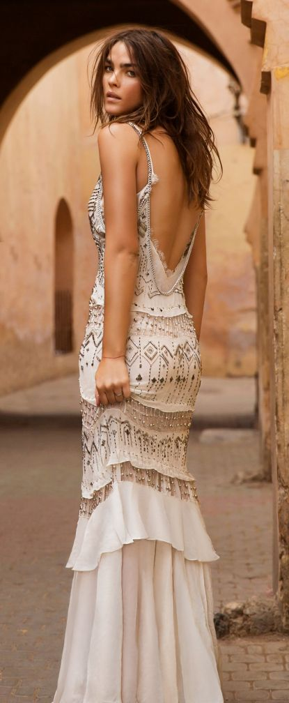 street style   #boho_dress