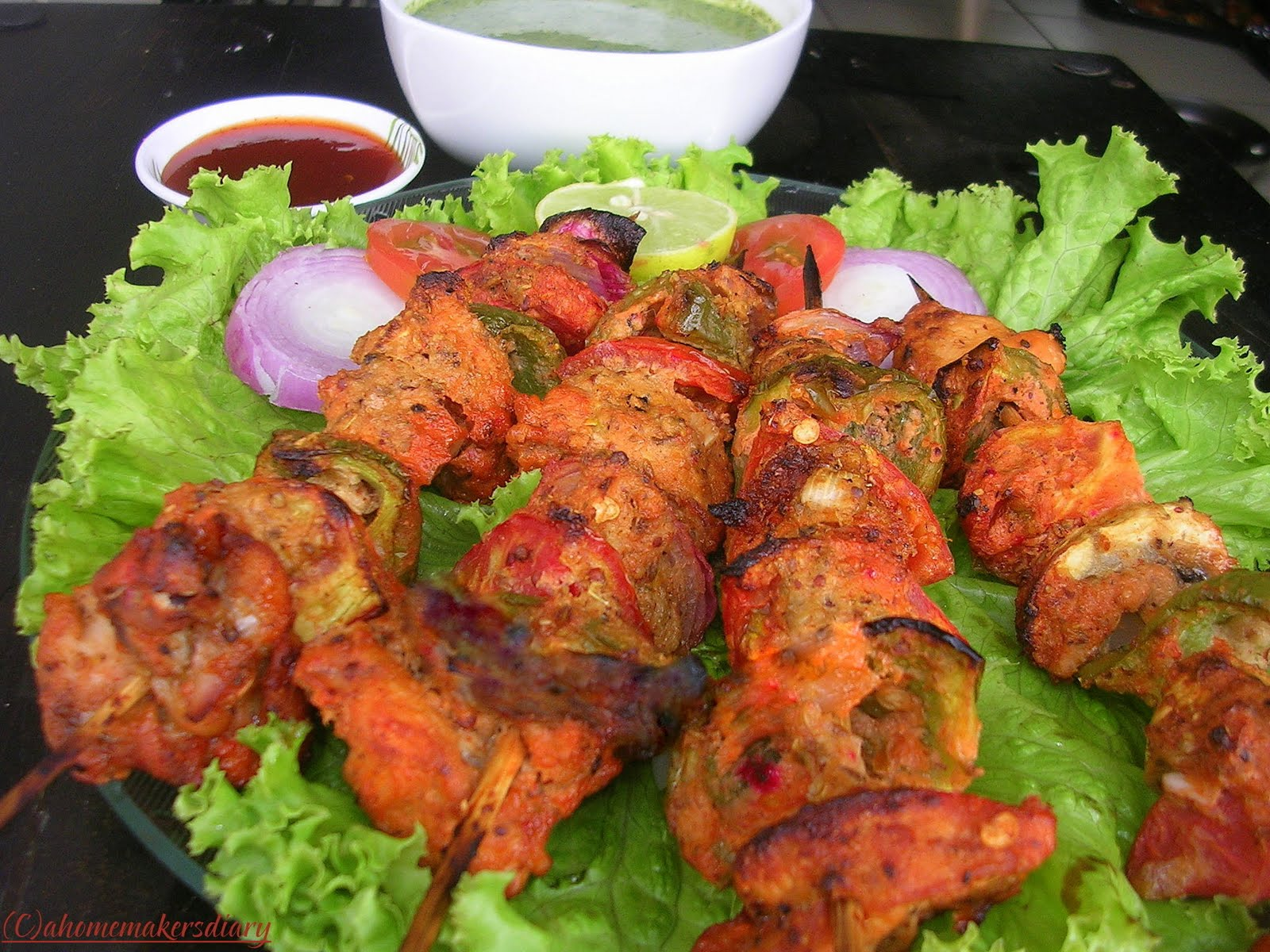 Chicken Tikka is very famous dish of Pakistan.