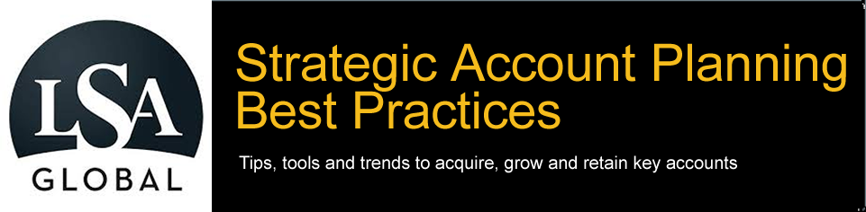 Strategic Account Planning Best Practices