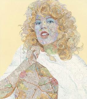 Obras de Arte con Mapas Reciclados
