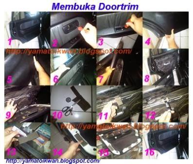 Cara Kerja Memperbaiki Doortrim