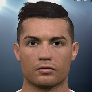 Ultigamerz PES Cristiano Ronaldo New Face Hair Update - Hairstyle cristiano ronaldo 2016