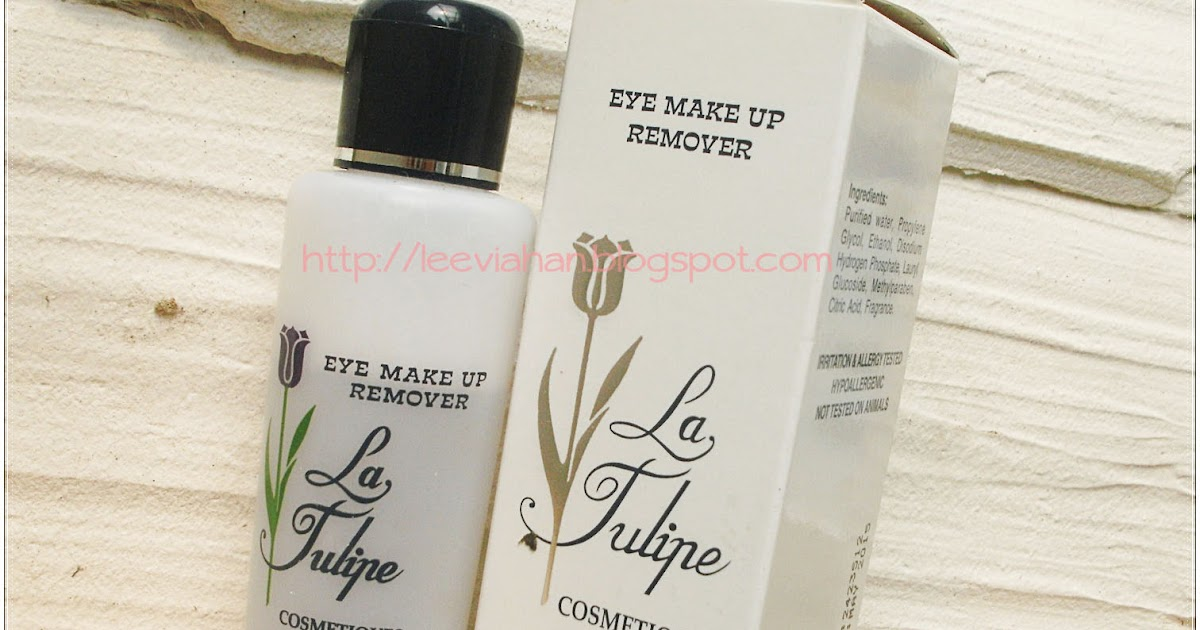 Beauty Blogger Indonesia By Lee Via Han Review La Tulipe Eye Make Up Remover