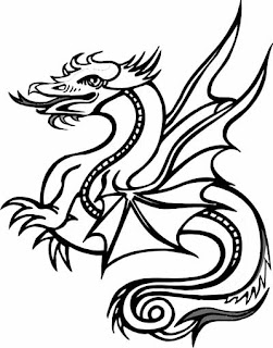dragon coloring pages, free coloring pages