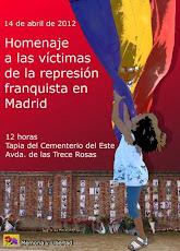 CEMENTERIO DE LA ALMUDENA - 14 de abril - 12:00 h