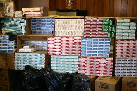 cigarettes seized
