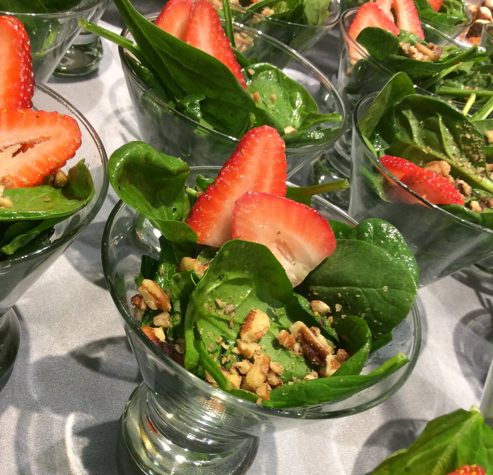 Spinach Salad, Wedding Food, Fine Dining, Texas Weddings, Culinary Art Catering
