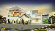 2 Floor Modern House Design