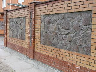 Каменный забор. Фото 8