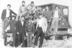 Εκδρομή  στην Αγία Τριάδα με το Γυμνάσιο .1971