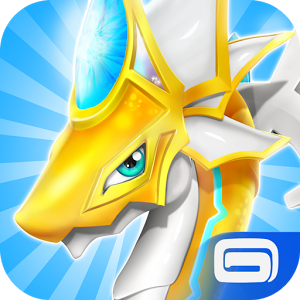 Android Games Dragon Mania Offline Asik - Logo