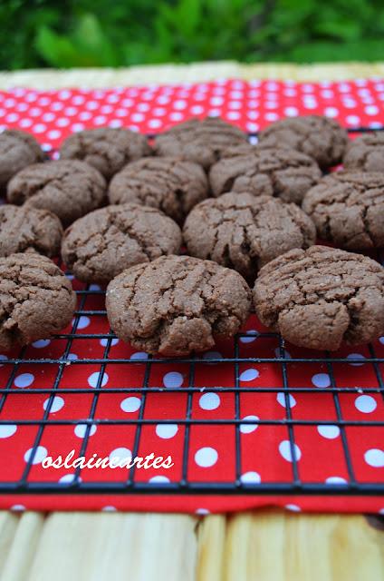 Biscoitinhos de chocolate