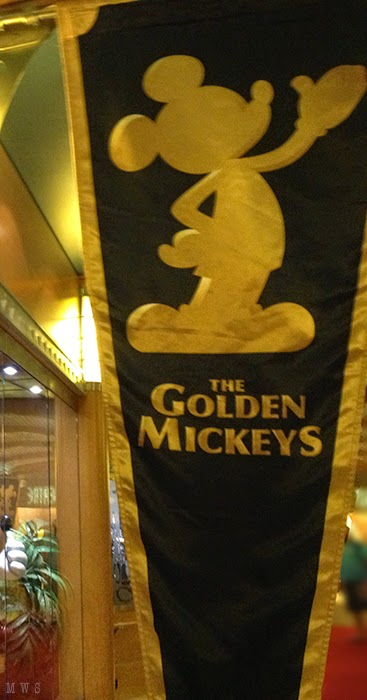 Golden Mickey banner