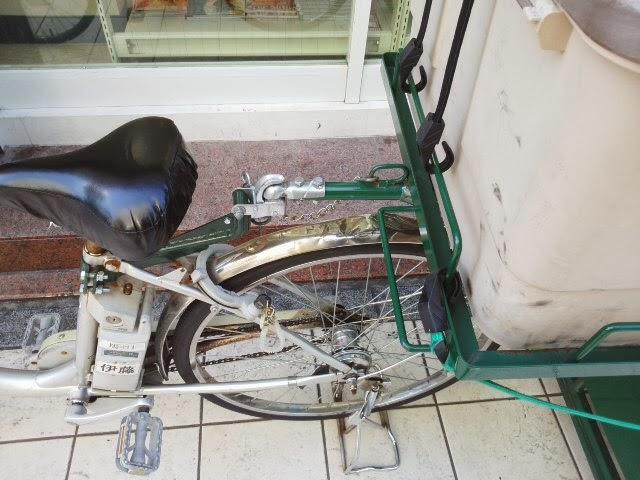 自転車の 自転車 ヤマト : ... ヤマトのリヤカーの連結器