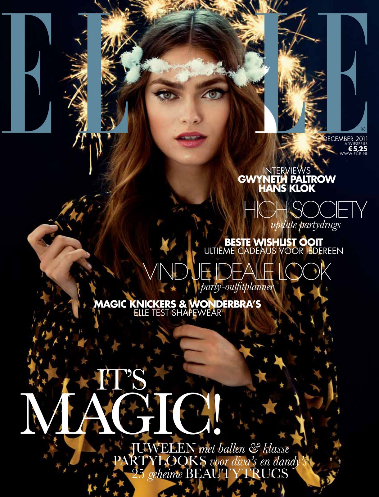 Elle Magazine Covers 2011