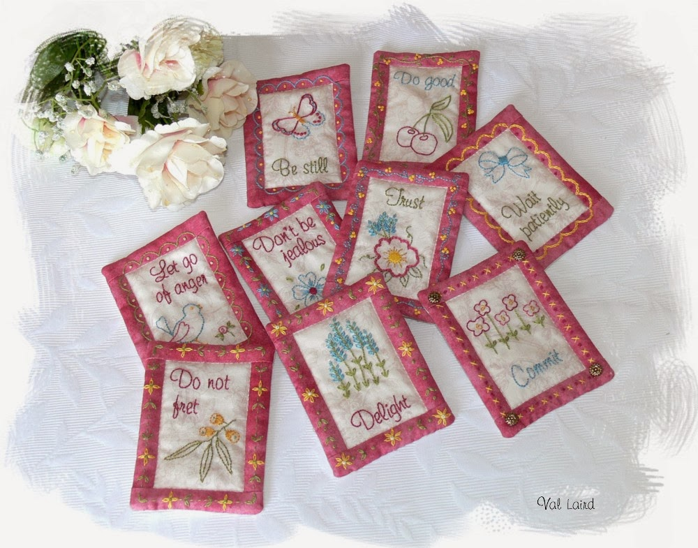 Mini Quilt Block Template Set : Val Laird Designs - Journey of a Stitcher: Free Pattern Launch - 2014 Block of the Month Wall Quilt