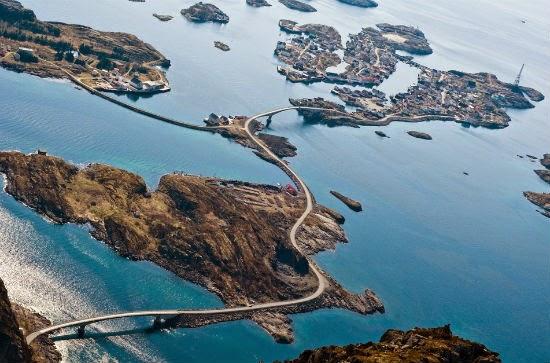 Atlantic Ocean Road Highway Tercantik Dan Bahaya Di Dunia 10 Gambar