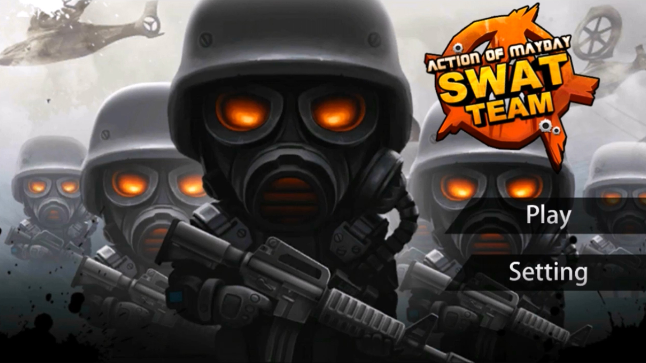 Action of Mayday: Swat Team Gameplay IOS / Android