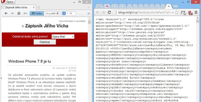Opera versus Chrome