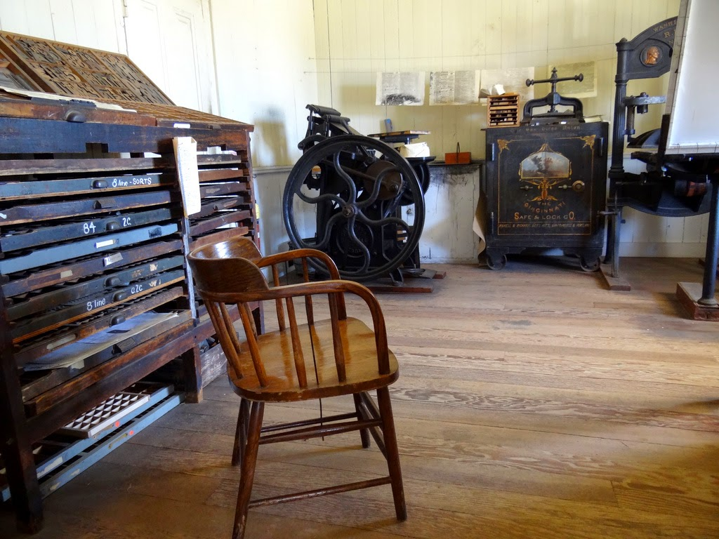 The San Diego Union Printing Office Interior