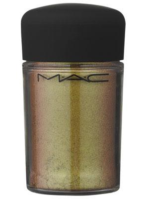 sombra dourada mac pigmento