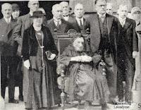 Maria Isabella Henrica Van Boeckel  gevierd als honderdjarige. Ons Volk 23-09-1934