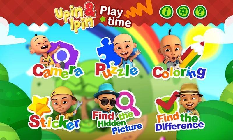 Upin&Ipin Playtime: Aplikasi Pendidikan Untuk Anak-anak