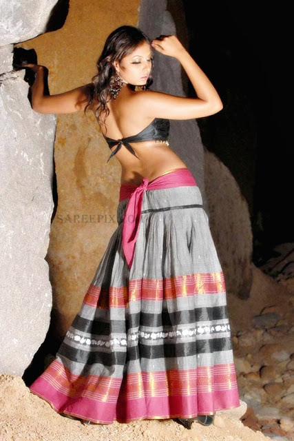 Poga-actress-Madhu-shalini-lehenga-photoshoot