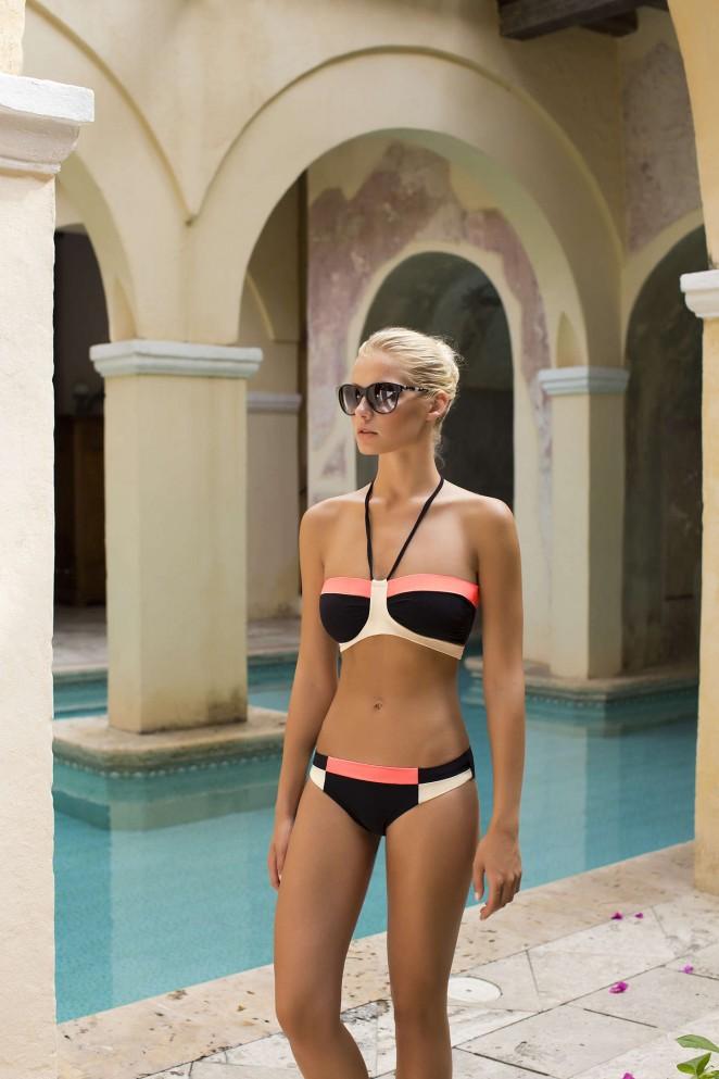 Touche Swimwear Spring/Summer 2015 featuring Gintare Sudziute