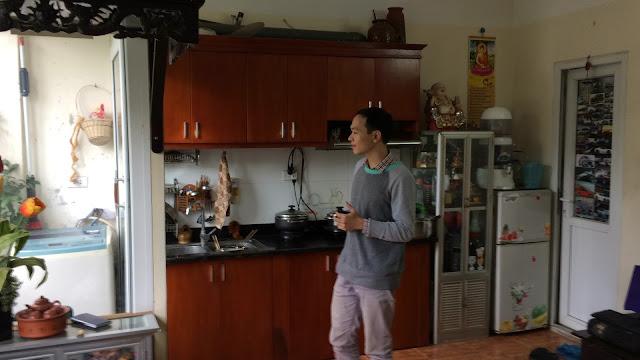 Căn hộ đã hoàn thiện và về ở của khách hàng mua chung cư mini Nhật Tảo giá rẻ