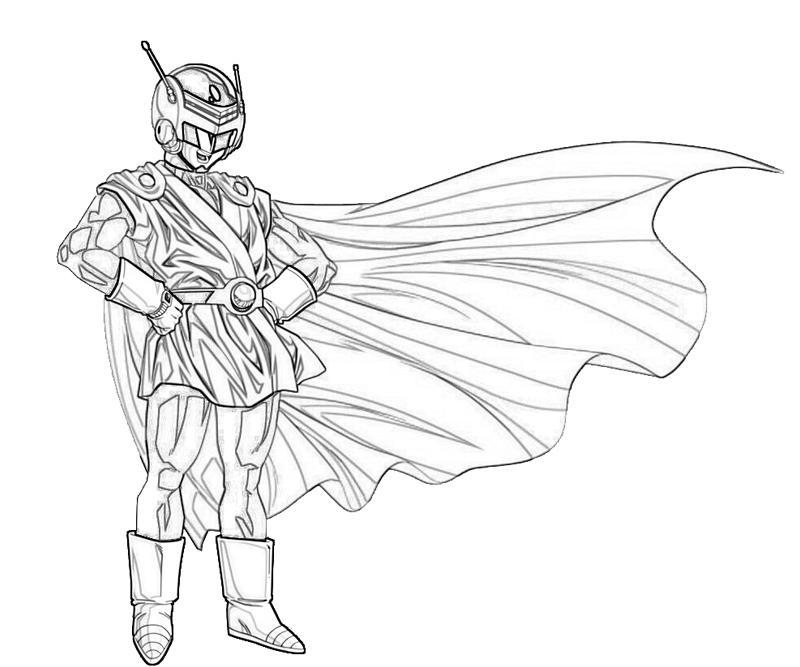 the-great-saiyaman-character-coloring-pages