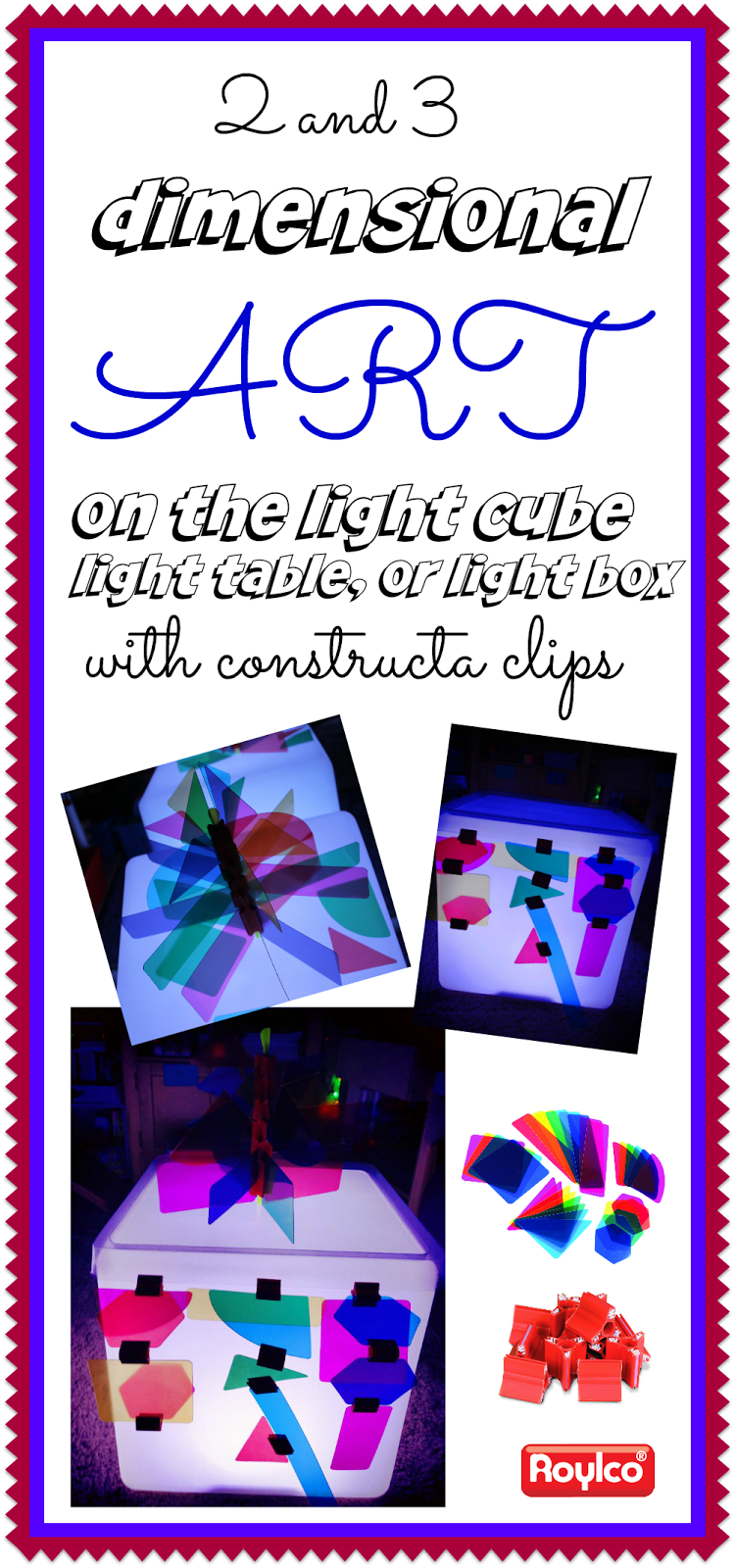 building on the light table