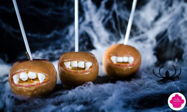 Vampire caramel apples - Défi 0.0 Chut #6