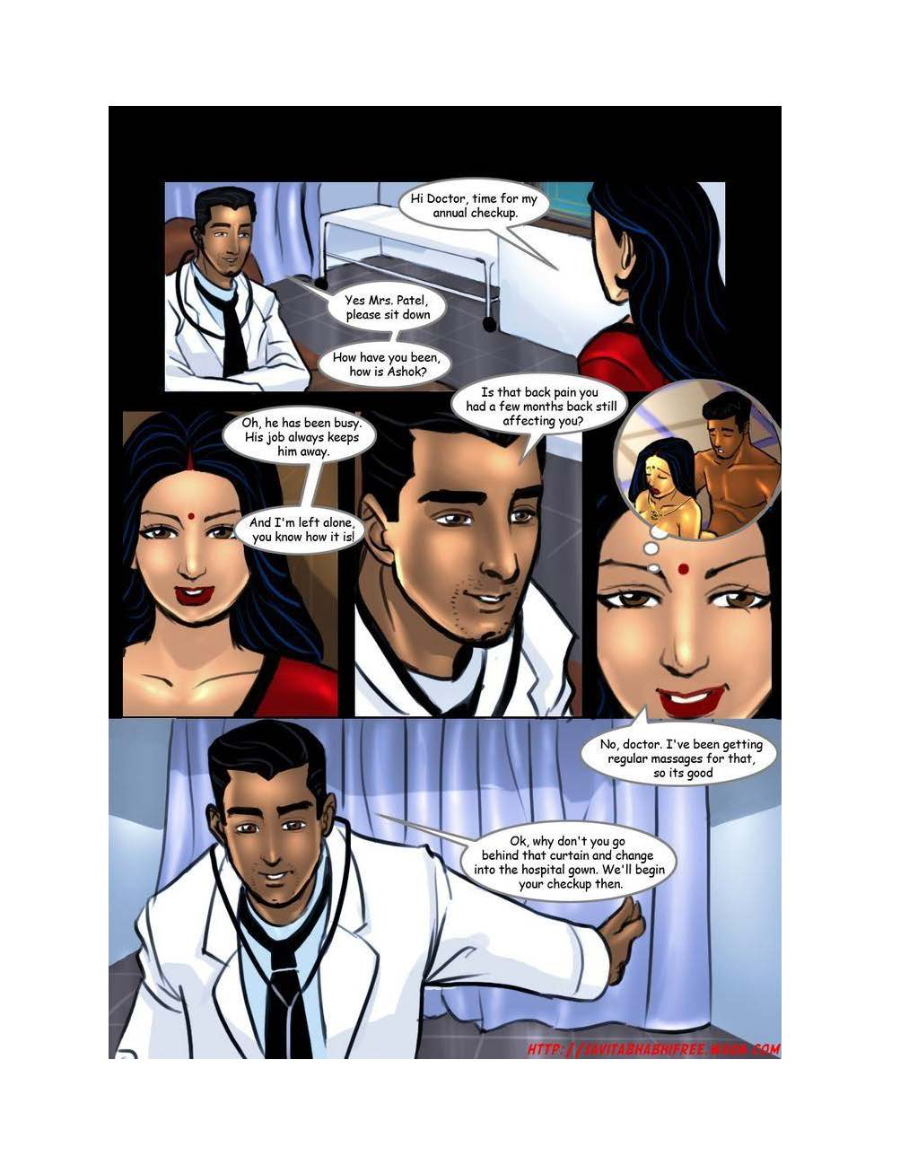 Adult Comics: Savita Bhabhi: Episode 7: Doctor Doctor