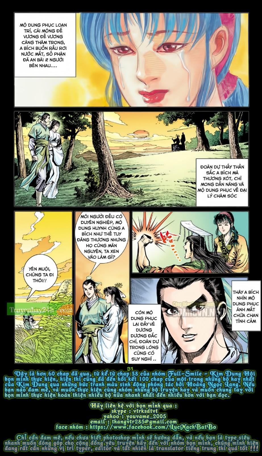 Thiên Long Bát Bộ chap 100 – End Trang 31 - Mangak.info