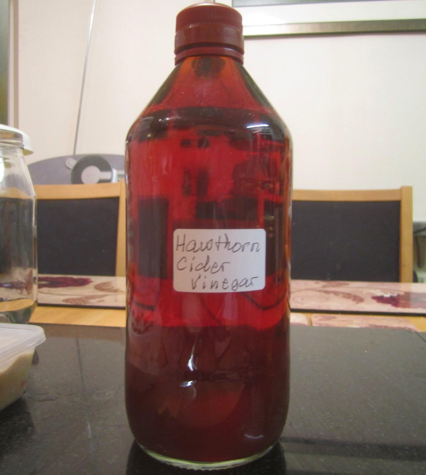 Hawthorn Vinegar